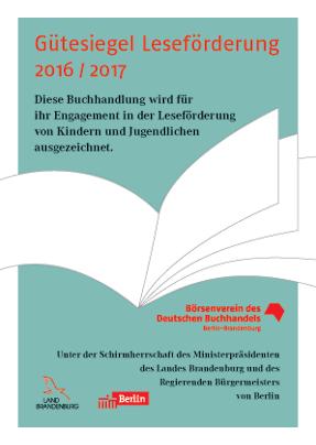Gütesiegel Leseförderung 2016_2017
